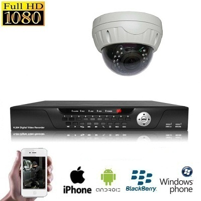 1x Dome Camera Set HD SDI Indoor