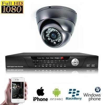 1x Mini Dome Camera Set HD SDI