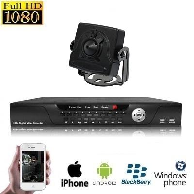 1x Mini Spy Camera Set HD SDI