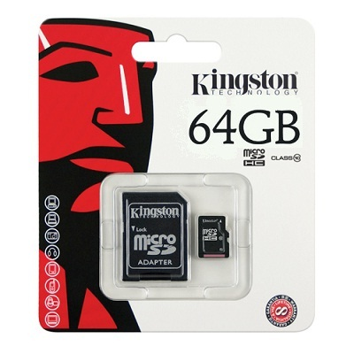 Kingstone Micro SD SDHC 64GB