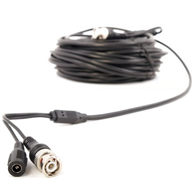 BNC Cable with Power 5M
