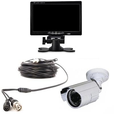 1x PREMIUM Mini IR Camera LCD