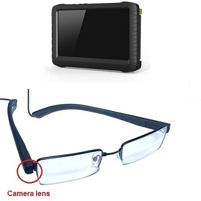 "Glasses Camera LCD Recorder <span class=""smallText"">[41000]</span>"