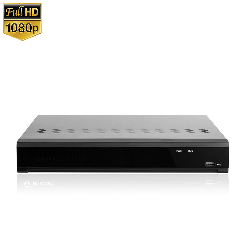 4 Kanaals Hybrid NVR DVR Recorder HD