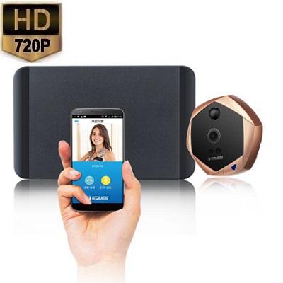 Deurspion Camera Telefoon Alarm HD 720P