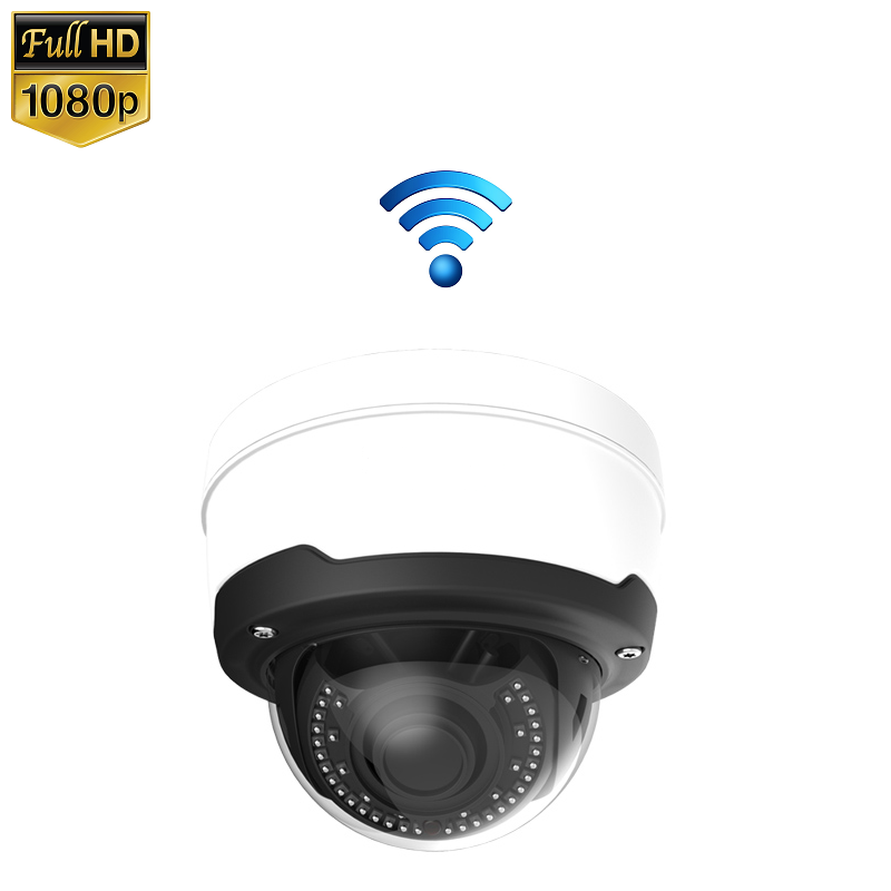 IP Camera Dome 2MP 1080P Draadloos