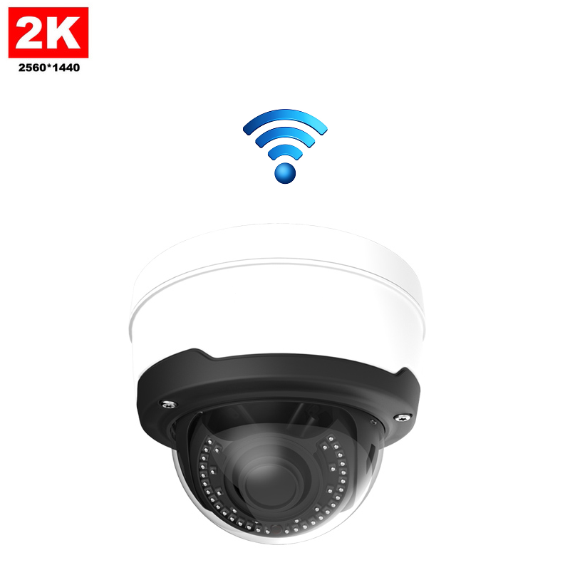 IP Camera Dome 4MP 2K Draadloos