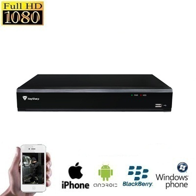 HD IP 8 Channel NVR Recorder