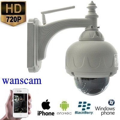 WIFI IP Camera HD 5x Zoom Opname Functie