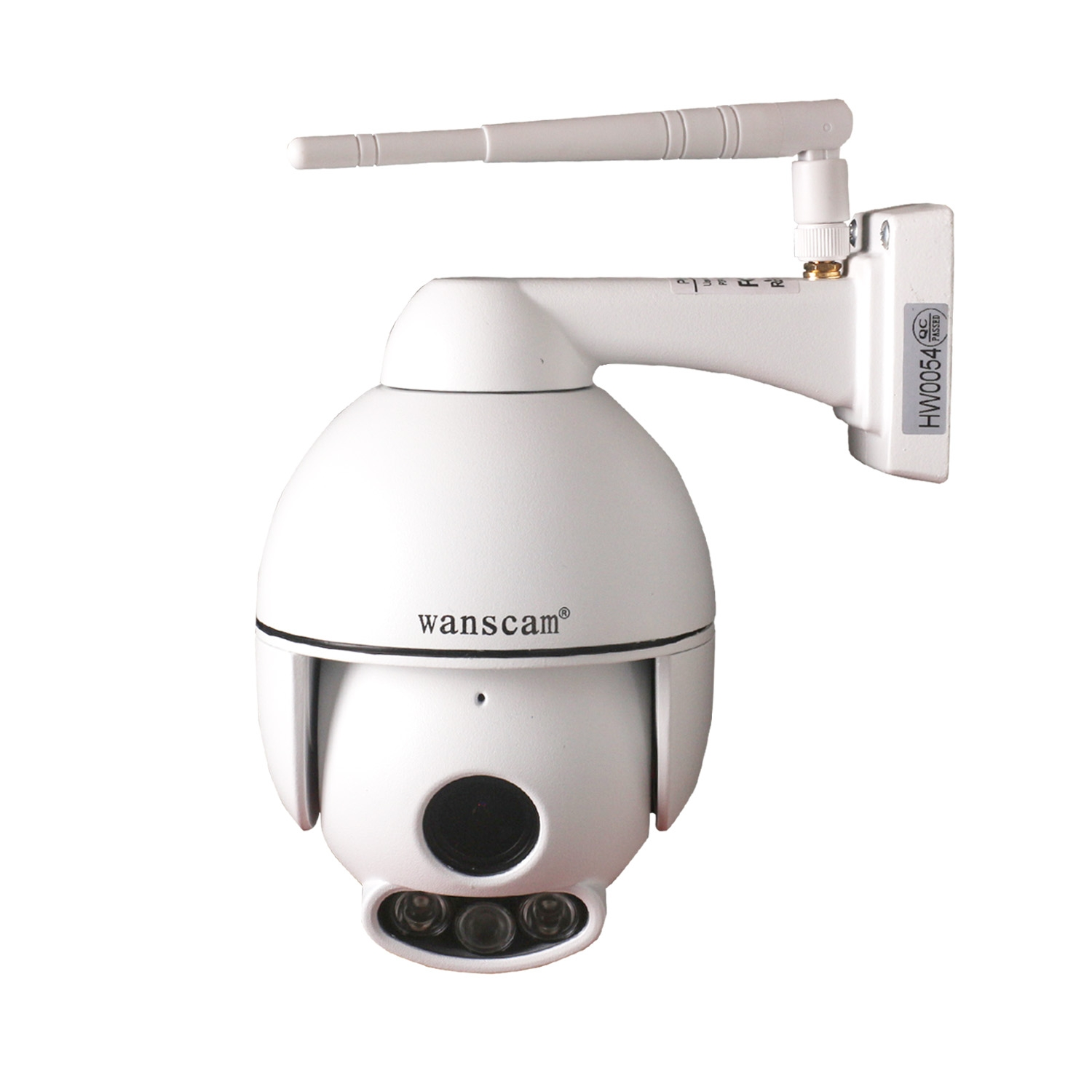 WIFI IP Camera FULL HD 1080P 4x Zoom met Opname Functie