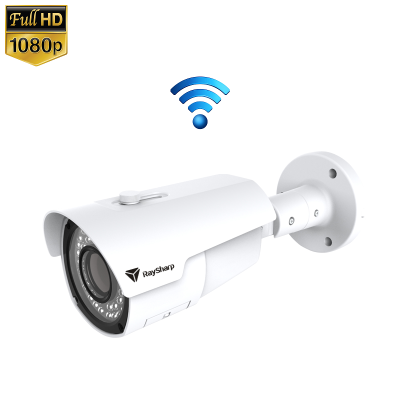 IP Camera IR Bullet 2MP 1080P Draadloos