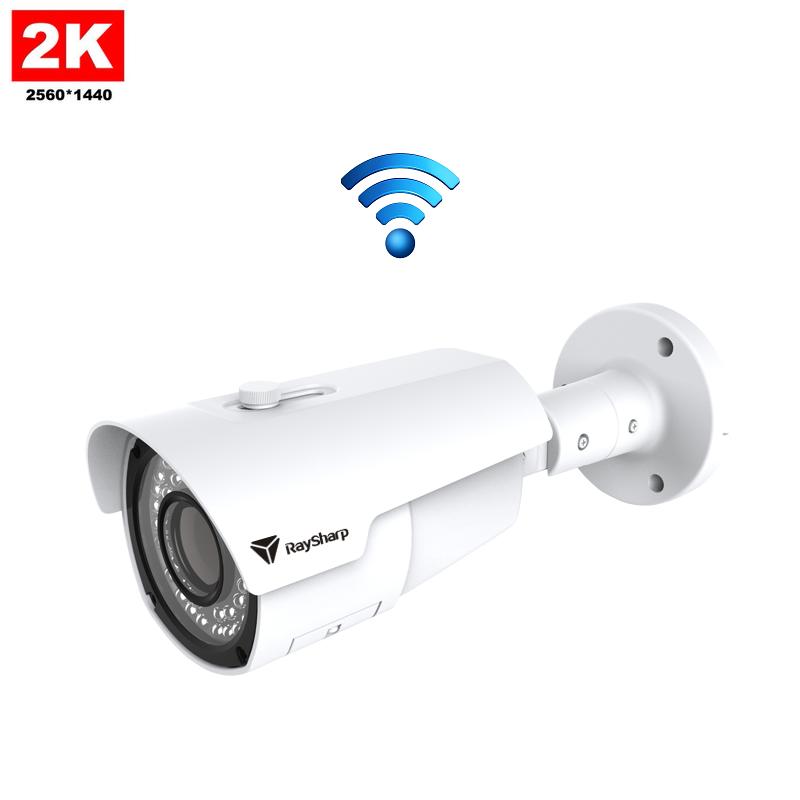 IP Camera IR Bullet 4MP 2K Draadloos