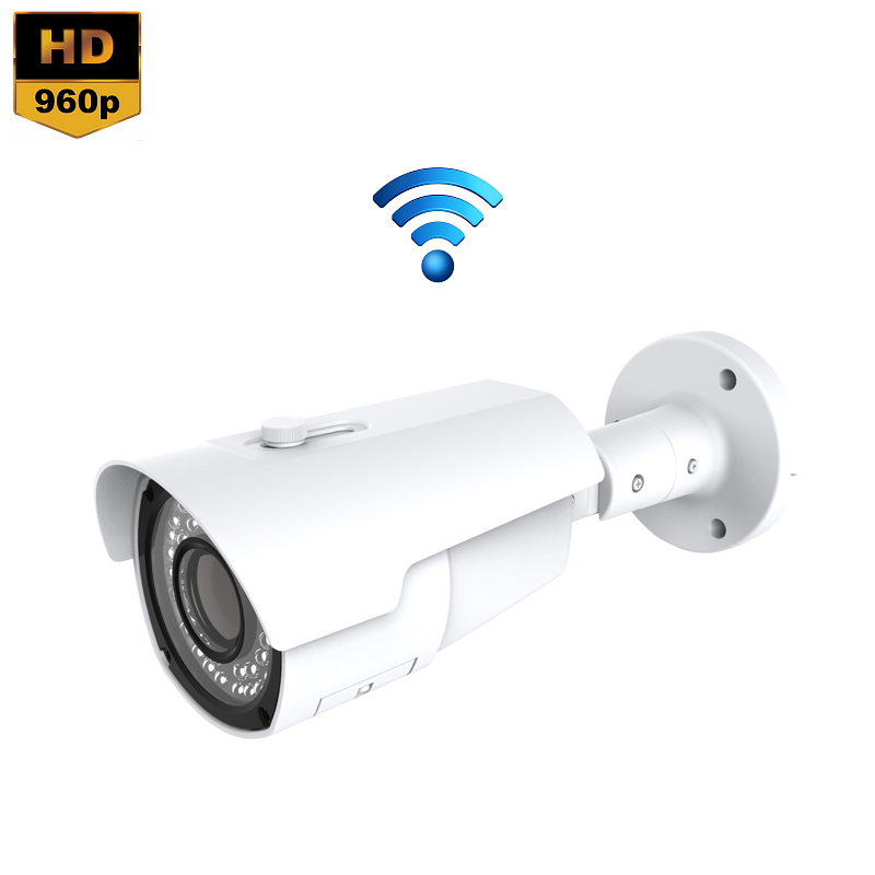 IP Camera IR Bullet 1.3MP 960P Draadloos