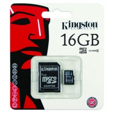 Kingstone Micro SD SDHC 16GB