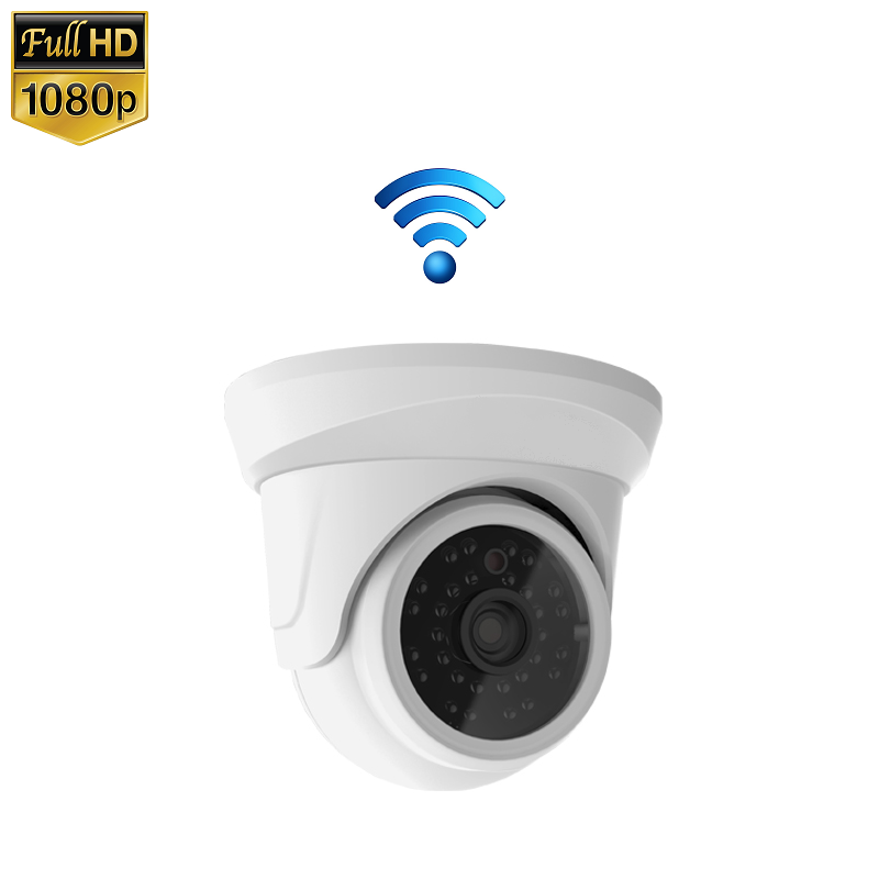 IP Camera Mini Dome 2MP 1080P Draadloos