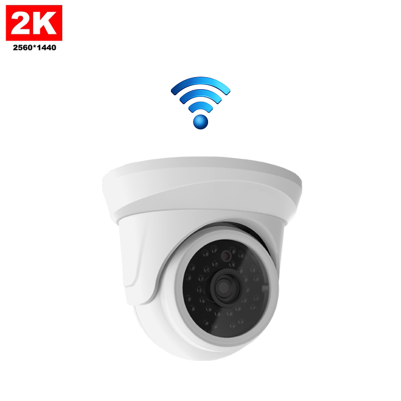 IP Camera Mini Dome 4MP 2K Draadloos
