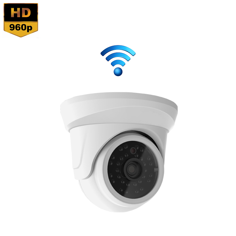 IP Camera Mini Dome 1.3MP 960P Draadloos