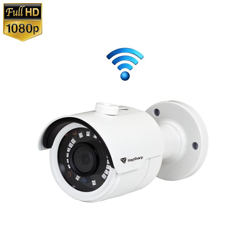 IP Camera Mini IR Bullet 2MP 1080P Draadloos