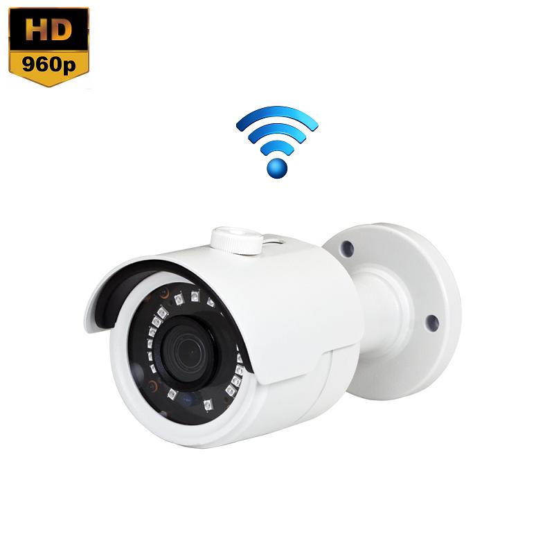 IP Camera Mini IR Bullet 1.3MP 960P Draadloos