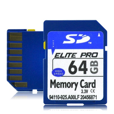 64 GB SD Memory Card