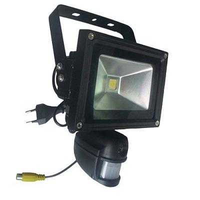 Schriklamp Buiten Camera