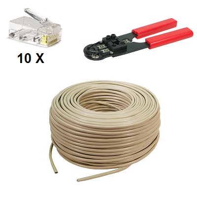 UTP Cable 100 meter Set