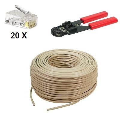 UTP Cable 300 meter Set
