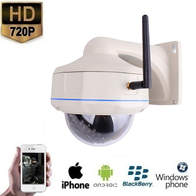 IP WIFI Dome Camera Beugel HD 720P