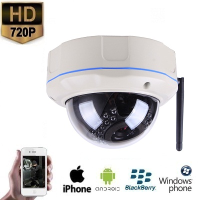 IP WIFI Dome Camera HD 720P