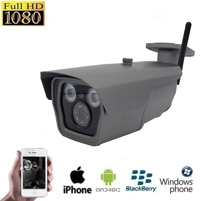 IP WIFI IR Grijs Camera HD 1080P