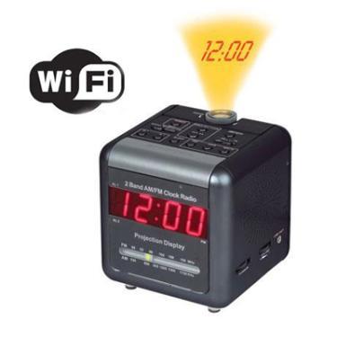 WIFI Wekker Radio IP Camera