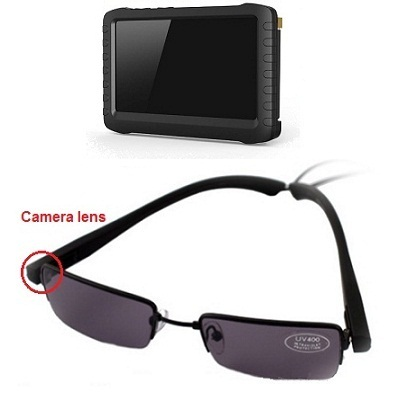 Sunglasses Camera LCD Recorder