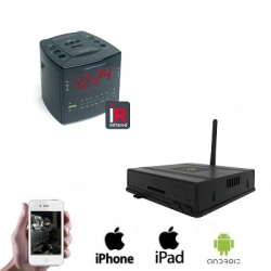 1x Wireless Radio Clock Camera DVR