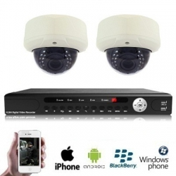 2x Wireless PREMIUM Dome Camera Kit
