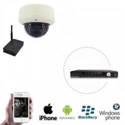 Draadloze PREMIUM Dome Camera DVR