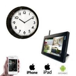 1x Wireless Clock Camera LCD DVR