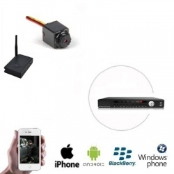 Draadloze Spy Camera DVR