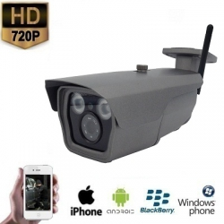 IP WIFI IR Grijs Camera HD 720P