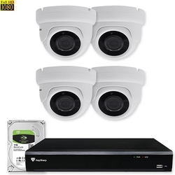 4x IP Camera Set - Bewakingscamera Set 1080P FULL HD