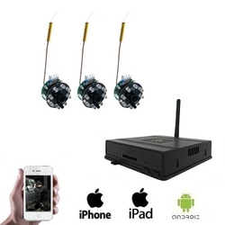 3x Draadloze Spy Camera DVR