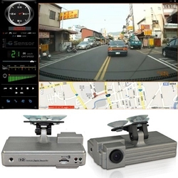 Car Camera DVR with GPS 1080P