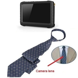 Neck Tie Camera LCD Recorder