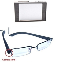 "Glasses Camera LCD HD Recorder <span class=""smallText"">[40633]</span>"