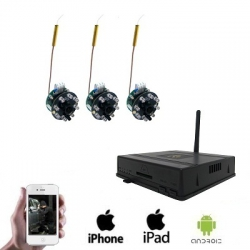 3x Wireless Spy Camera DVR