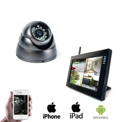 "1x Wireless Dome Camera LCD DVR <span class=""smallText"">[40775]</span>"