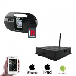1x Wireless Ipod Dock Camera DVR