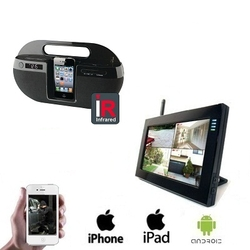 1x Draadloze Ipod Dock Camera LCD DVR