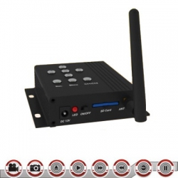 2.4 GHZ Wireless Receiver DVR