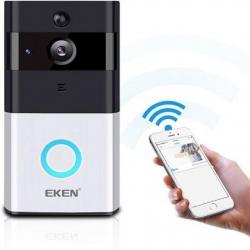 Eken Wifi Deurbel Draadloos Met Camera En App 41366 7995 Ip