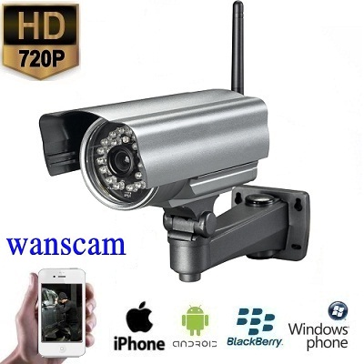 Draadloze WIFI Outdoor IP Camera HD